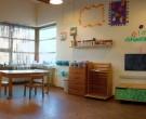 Wir haben in der Sonnen- und Sternchengruppe Ateliers (Reggio Emilia Konzept)